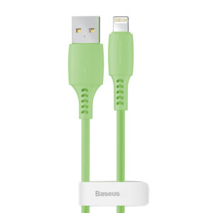 Baseus 1.2m - 2.4A Colourful Series USB Type-A 2.0 to Lightning Cable
