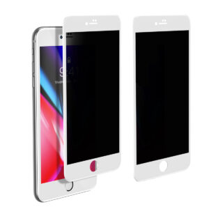 Baseus 0.23mm Privacy Curved Glass Screen Protector iPhone 6, 7 & 8 (2PCS)