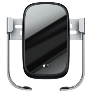 Baseus R.S 10W Infrared Auto-Clamping Anti-Slip Wireless Charger Car Mount - Black