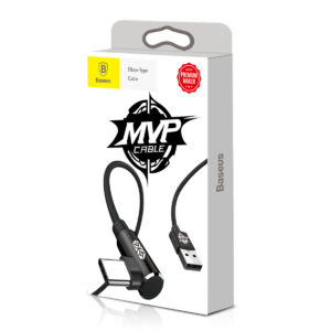 Baseus 1m - 2A MVP USB Type-A 2.0 to Type-C Cable - Black