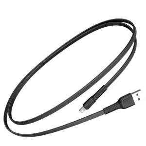 Baseus 1m - 2A Tough Series USB Type-A 2.0 to Lightning Cable - Black