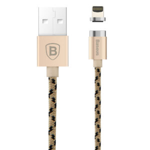 Baseus 1m - 2.4A Insnap USB Type-A to MagSafe Lightning with Adapter Cable