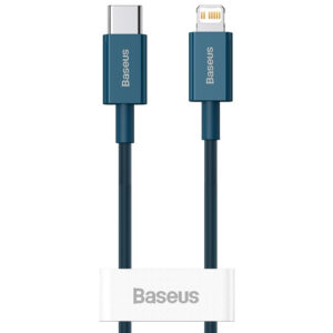Baseus 20W - 2m Superior Series Fast Charging USB-C to Lightning PD - Blue